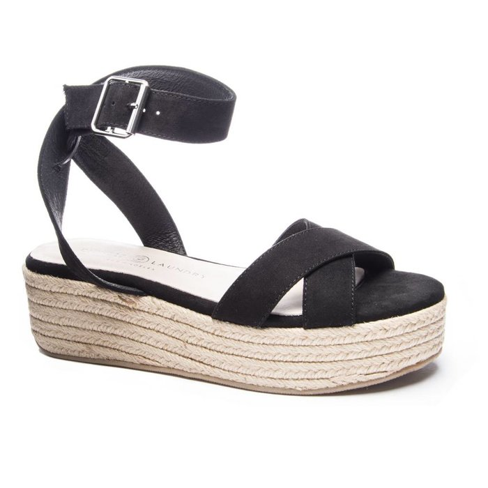 Zala Wedge Black