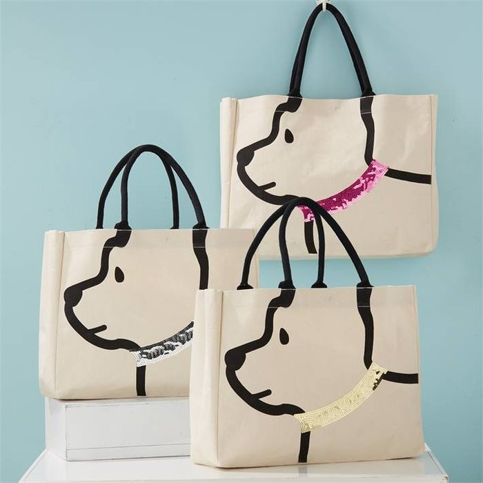 Two's Company Dog Tote