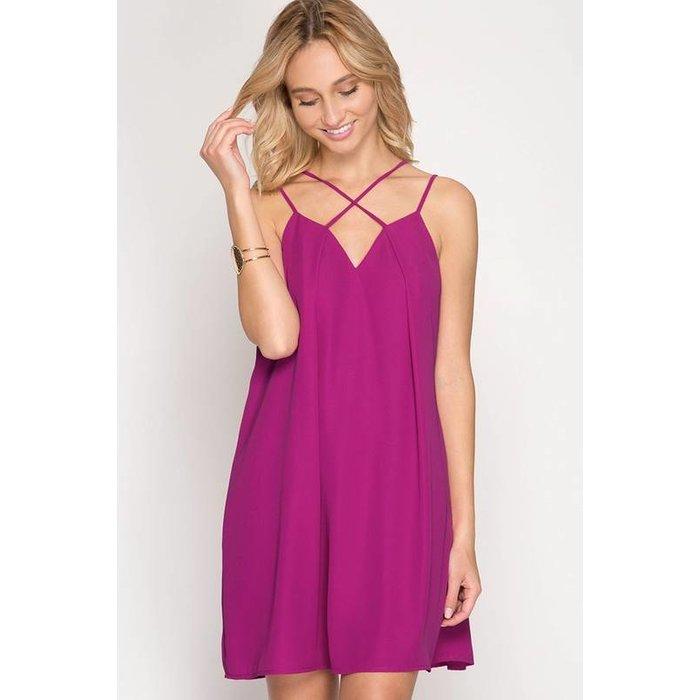 Front Pleat Dress