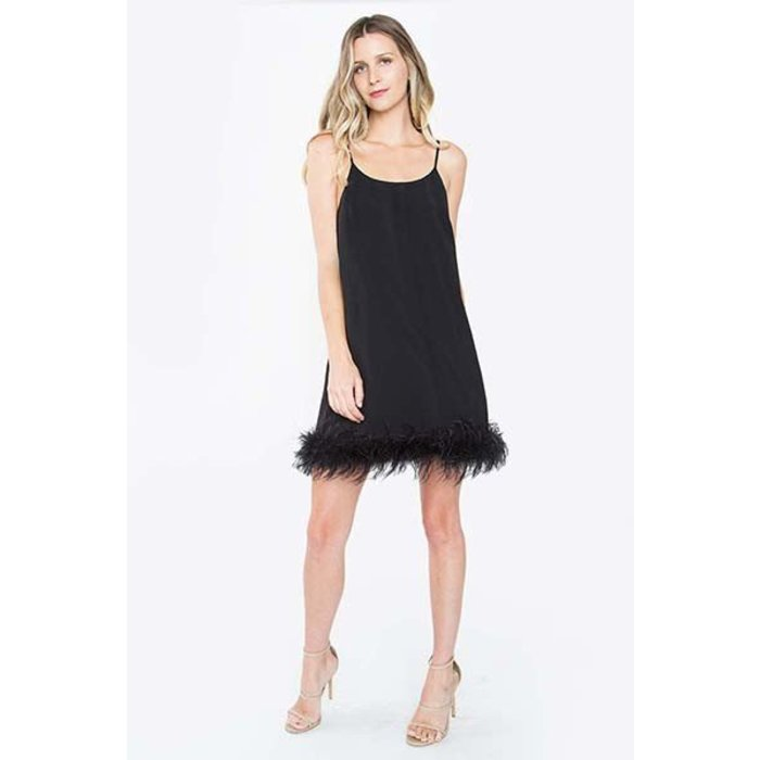 Marabou Feather Dress