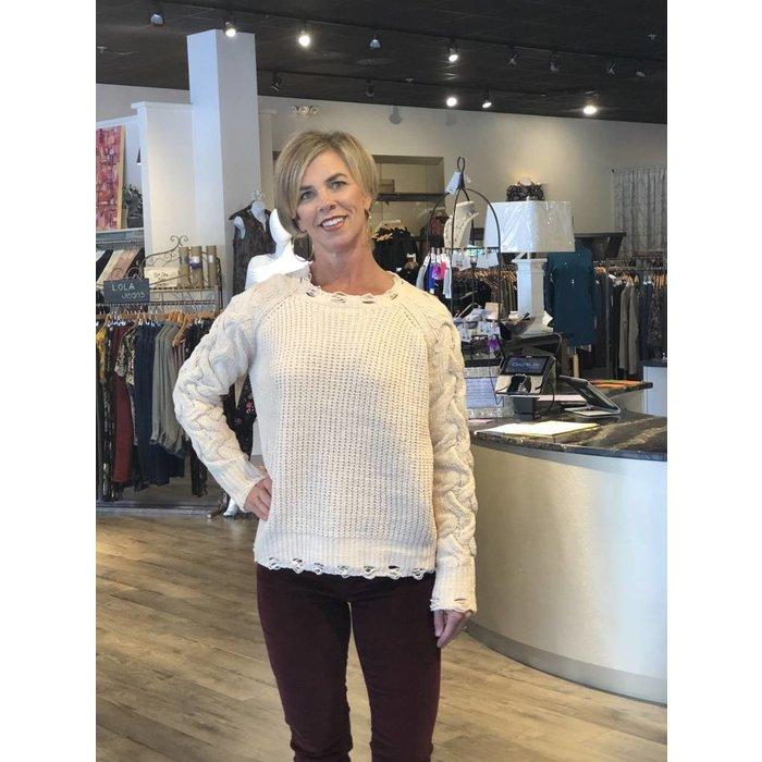 Esqualo Chenille Sweater