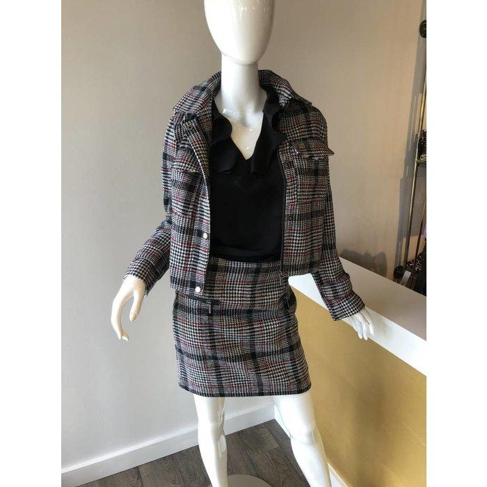Esqualo Check Skirt