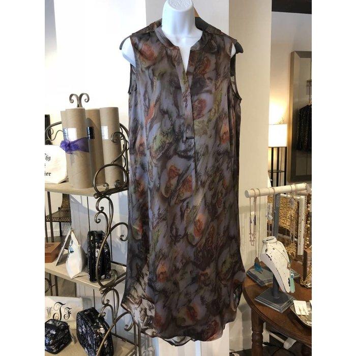Silk Chameuse Dress