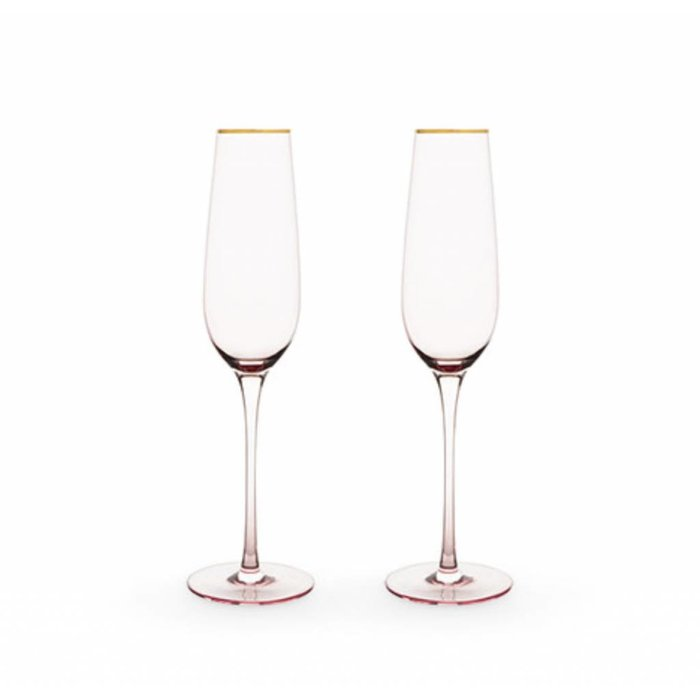 True Brands Garden Party Rose Champagne Set