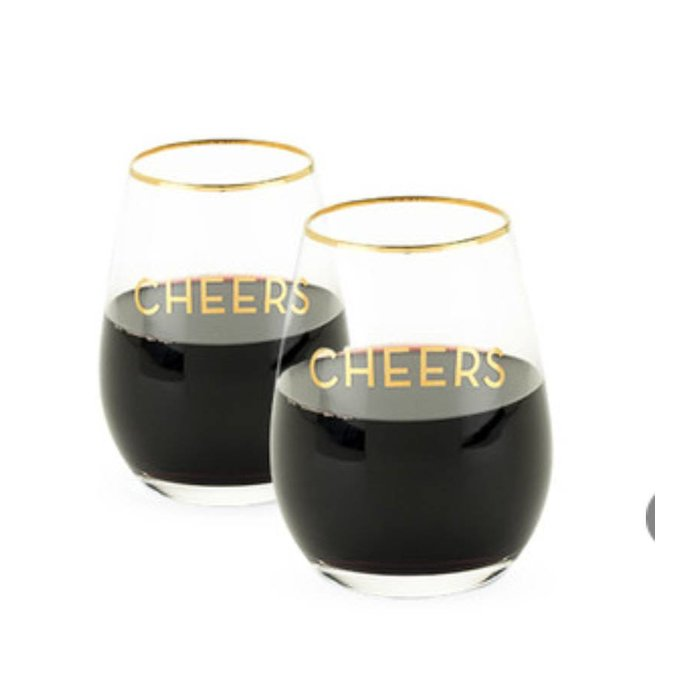 Twine Rustic Farmhouse Cheers Set