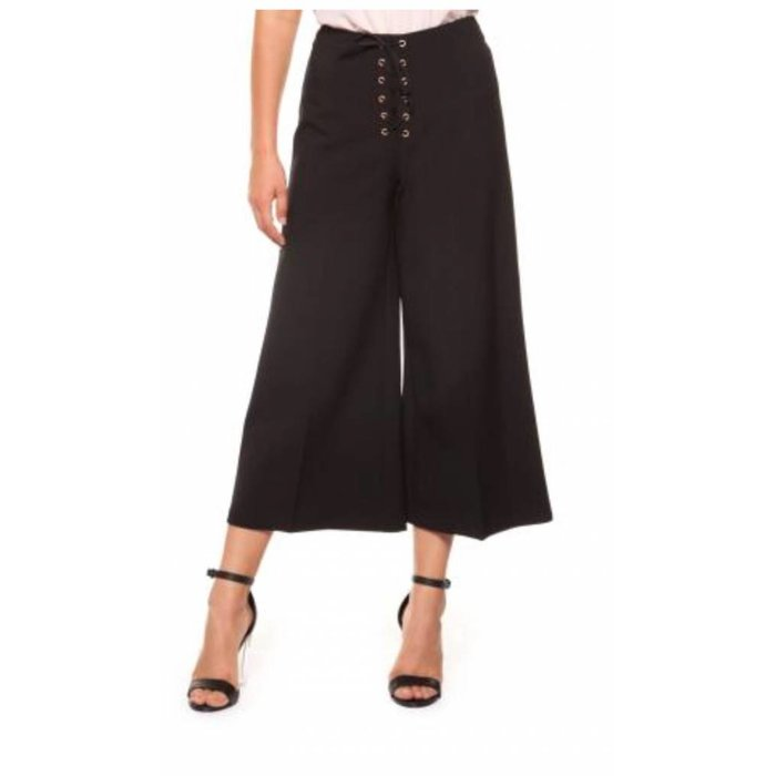 Dex Black Tape Split Skirt