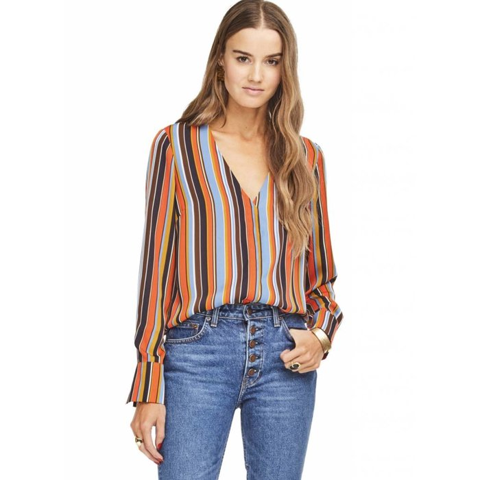Doreen Stripe Blouse