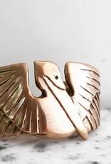 Bronze Pelican Cuff