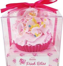 Large Pink Bliss Cupcake