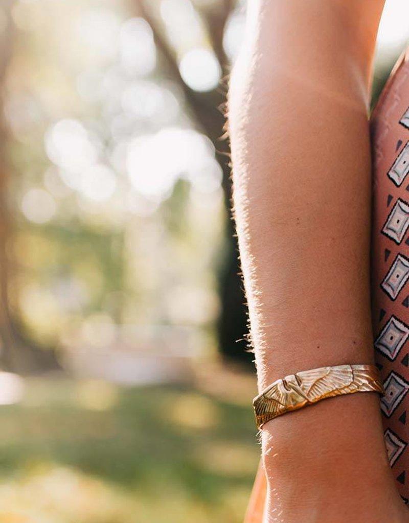 Petite Pelican Cuff Bracelet
