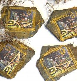 NOLA SLATE NOLA Cityscape Coasters