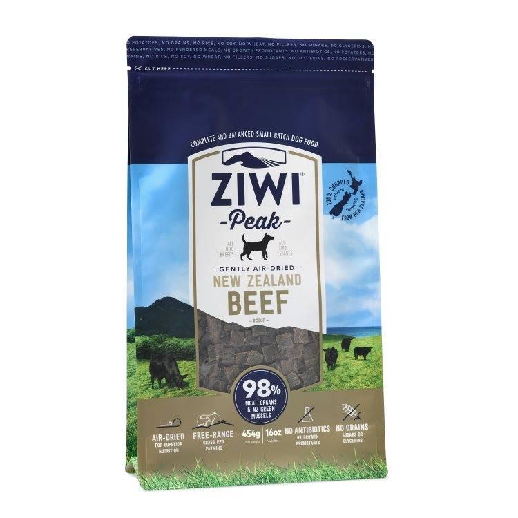 """Ziwipeak Ziwipeak- Air Dried Dog Food """"Beef"""""""