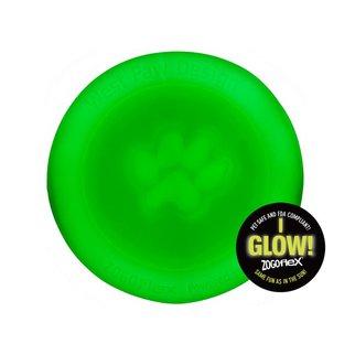 West Paw Designs West Paw Zogoflex Toy- Zisc GLOW
