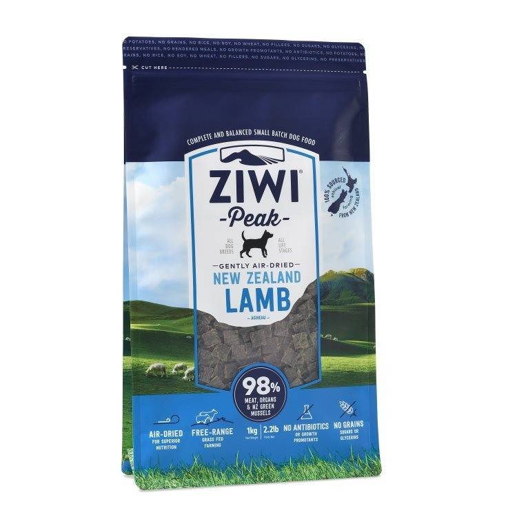 "Ziwipeak Ziwipeak-Air-Dried Dog Food ""Lamb"""