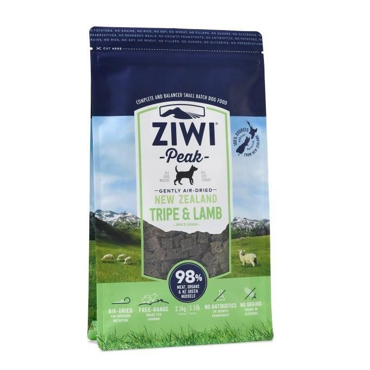 """Ziwipeak Ziwipeak-Air Dried Dog Food """"Tripe & Lamb"""""""