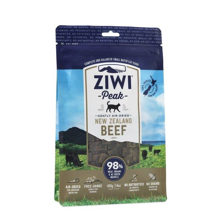 Ziwipeak Ziwipeak- Air Dried Cat Food 400g