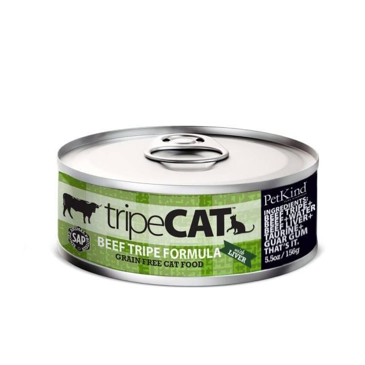 Tripett Petkind- Canned Cat Food tripeCat 156g