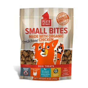 Plato Pet Treats Plato- Small Bites 113g
