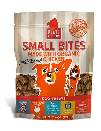 Plato Pet Treats Plato- Small Bites 113g