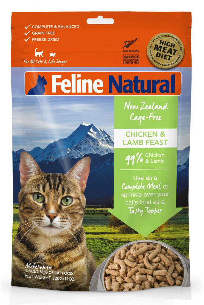 K9 Natural K9 Feline Natural-Freeze Dried Cat Food 320g