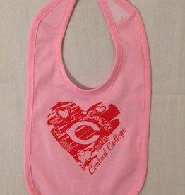 IG IG Baby Bib Pink