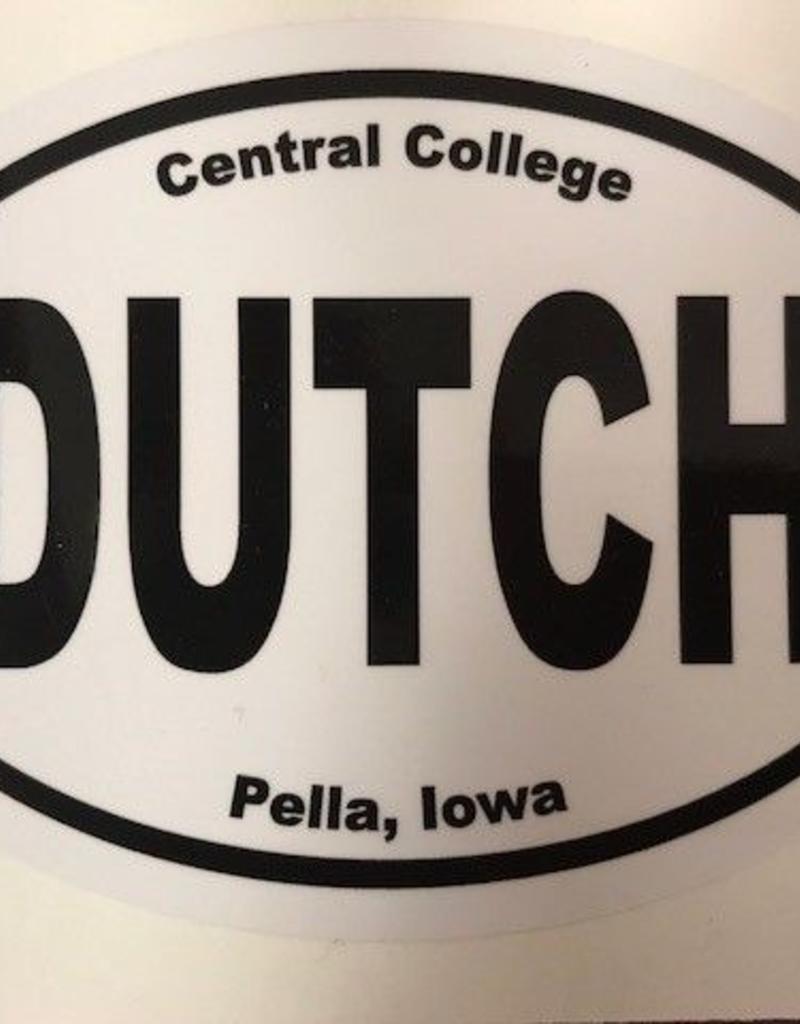 CSCAR Car Stickers Oval laptop sticker Dutch