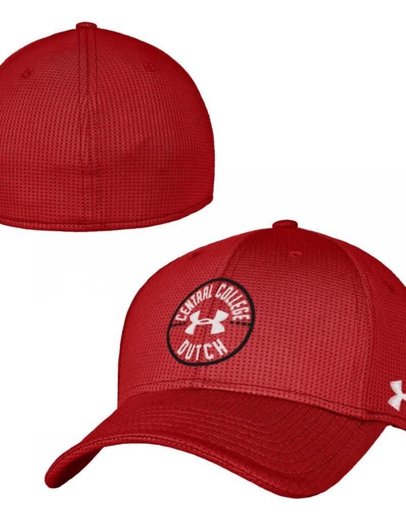 UA UA Blitzing Circle Art Red