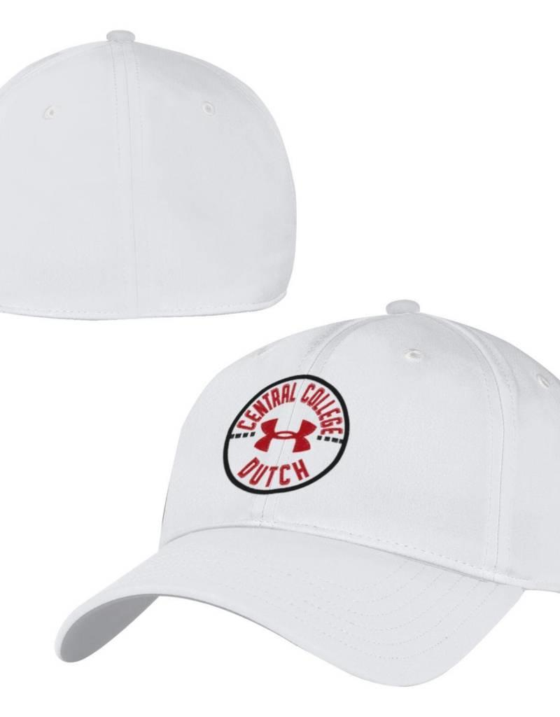 UA UA Blitzing Circle Art White