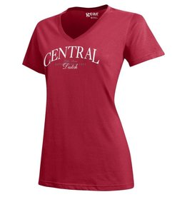 GFS Gear Mia Serif Short Sleeve Red