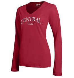GFS Gear Mia Serif Long Sleeve Red