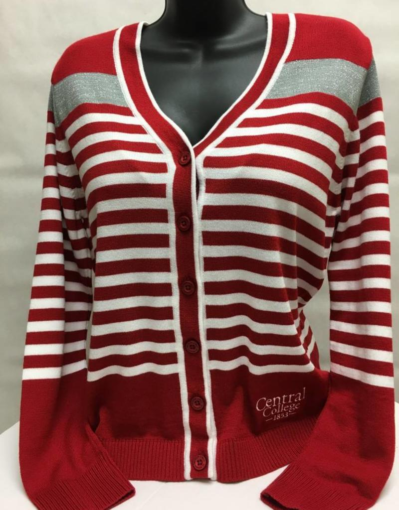 EMERS Emerson Striped Cardigan Sweater