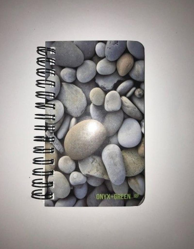 "ONXG Onyx Green 3""x5"" Stone Notebook"
