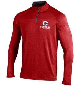 UA UA 1/4 Zip Two Tone Red