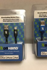 On Hand On Hand USB Cable Apple Black