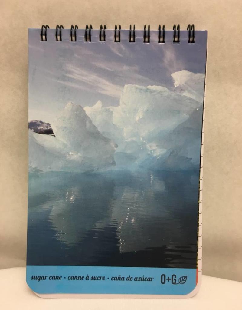 ONXG Onyx Green Notebook 4x6 Sugar Cane