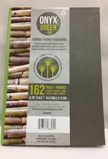 ONXG Onyx Green Journal 5x8 Hard Side Sugar Cane