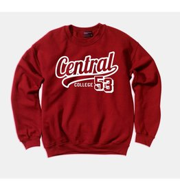 MVSPT Comfort Fleece Tail Crew Crimson
