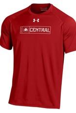 UA UA Lion Tech Tee Red