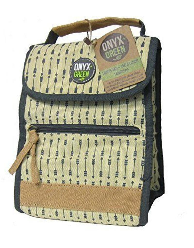 ONXG Onyx Green Lunch Bag