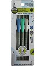 ONXG Onyx Green Pen Smooth Gel (3)