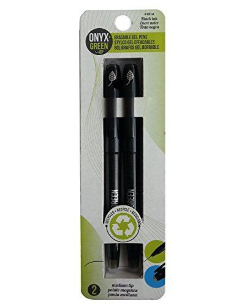 ONXG Onyx Green Pen Erasable Gel