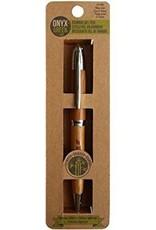 ONXG Onyx Green Pen Bamboo Gel
