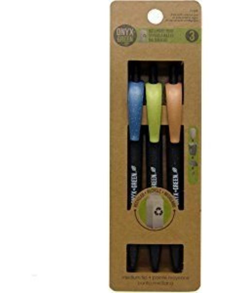 ONXG Onyx Green Pen Retractable Ballpoint (3)