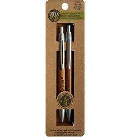 ONXG Onyx Green Pen/Pencil Set Bamboo