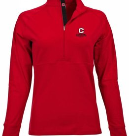 LEVELWEAR LW 1/4 Zip New C Red Women