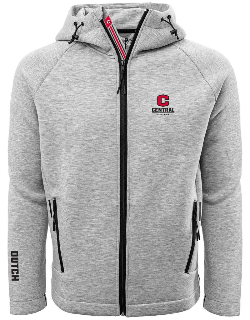 LEVELWEAR LW Full Zip Hoodie Men Gray