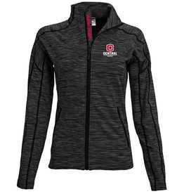 LEVELWEAR LW Full Zip New C Gray/Black Women