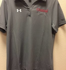 UA UA Performance Polo Academic Logo Gray
