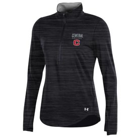 UA UA 60/40 1/2 Zip Black