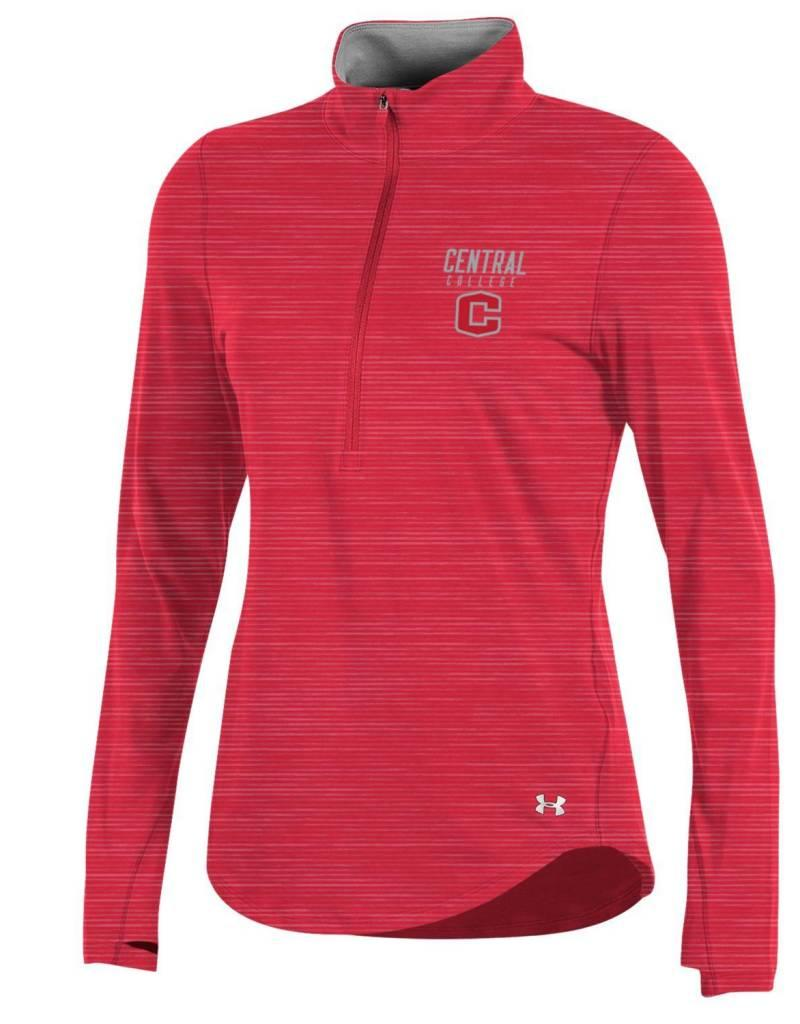 UA UA 60/40 1/2 Zip Red